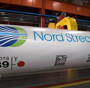 Una tubería para Nord Stream 2