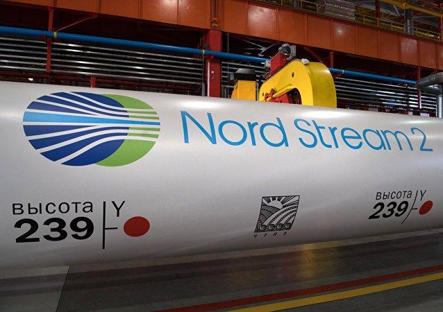 Una tubería para Nord Stream 2 (archivo)