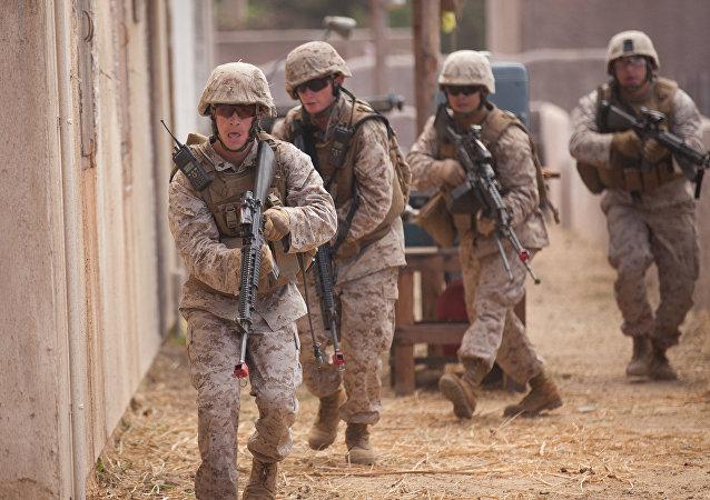 Militares de EEUU en Afganistán (archivo)