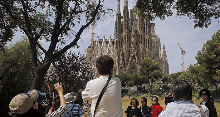 Turistas en España (archivo)
