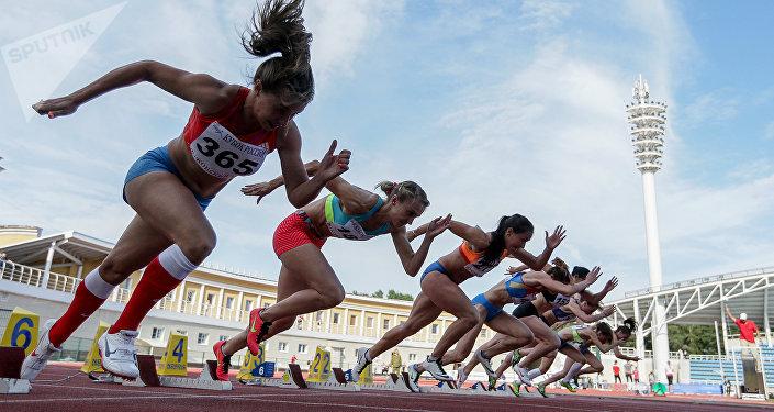 Las atletas rusas (archivo)