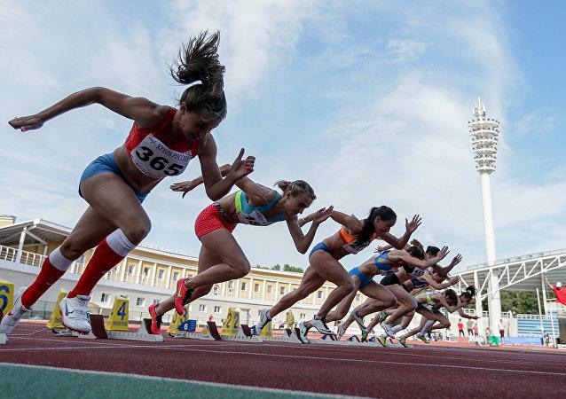 Las atletas rusas