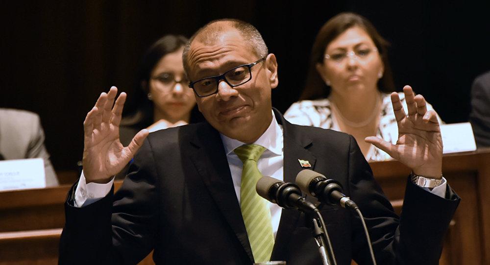 Jorge Glas, exvicepresidente de Ecuador