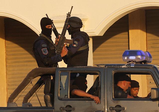 Policías de Egipto (archivo)