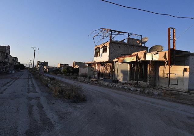 Situación de Guta Oriental en Siria (archivo)