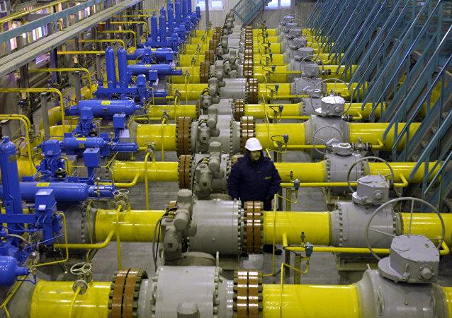 Gas ruso (archivo)