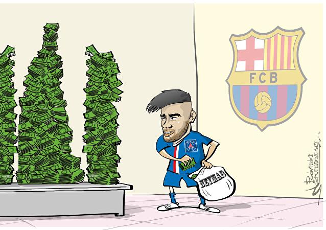 Neymar, el jugador más caro del mundo