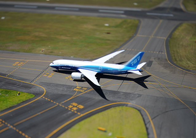 Boeing 787 Dreamliner in Sydney