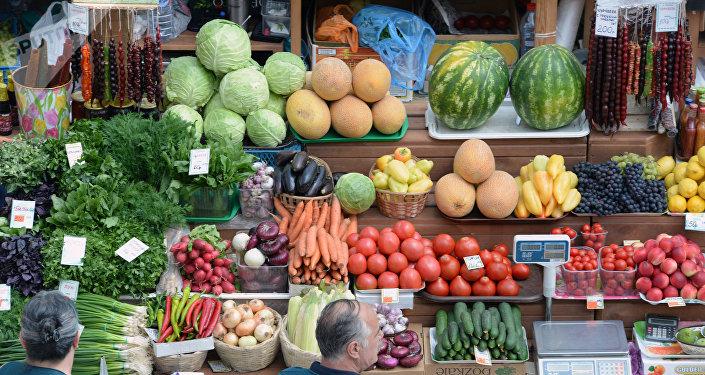 El mercado central de la ciudad rusa de Vorónezh (imagen referencial)