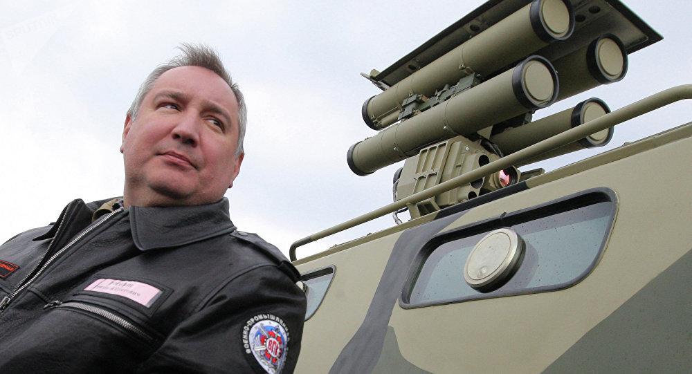 Viceprimer ministro de Rusia, Dmitri Rogozin