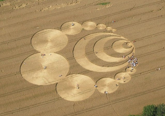 Círculos en cultivos de Suiza (archivo)