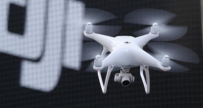 Un dron fabricado por la empresa DJI (imagen ilustrativa)