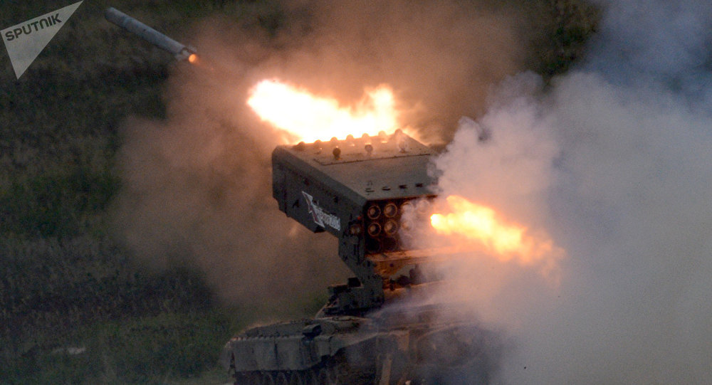 TOS-1 Solntsepiok (archivo)