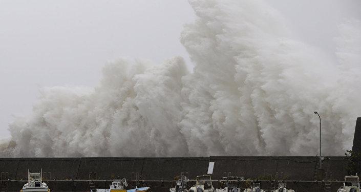 El tifón Noru (archivo)