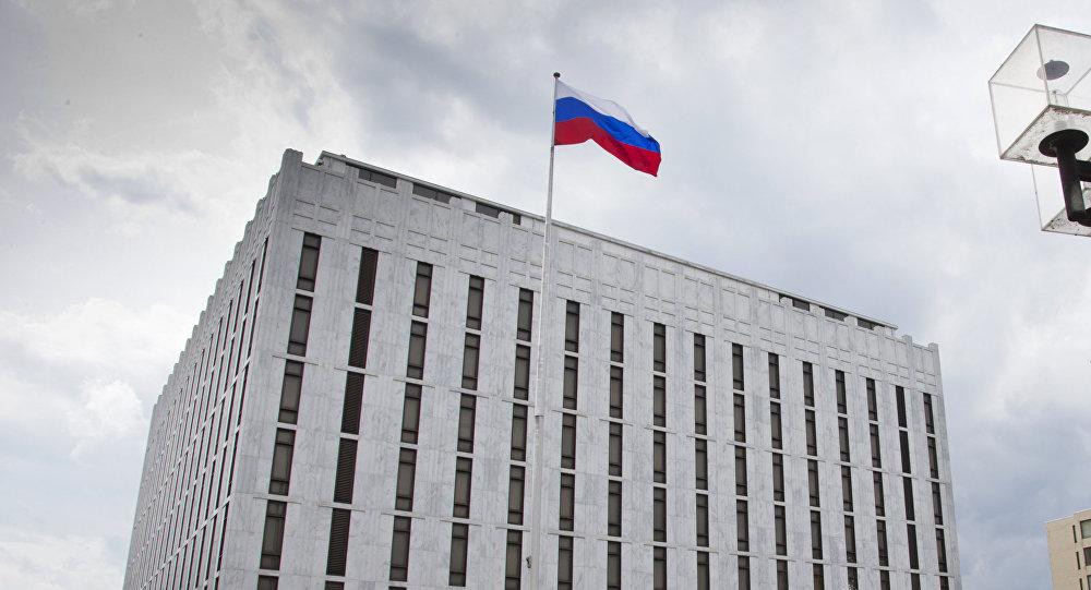 Embajada rusa en Washington (Archivo)