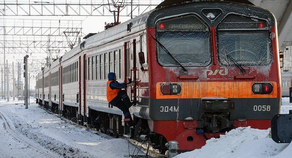 Un tren ruso (archivo)