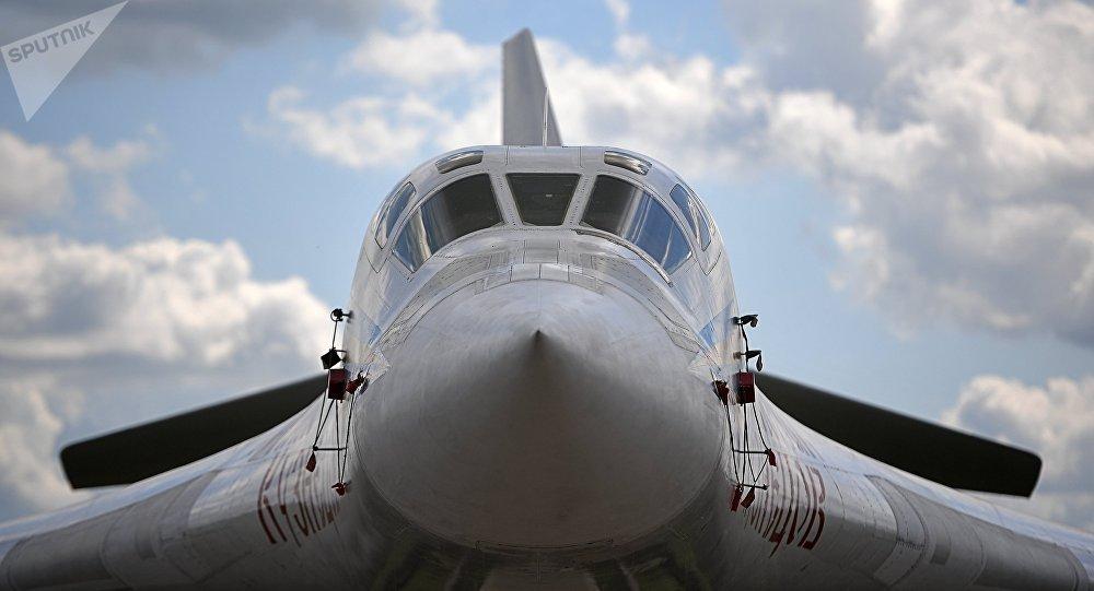 El bombardero pesado Tu-160 (archivo)