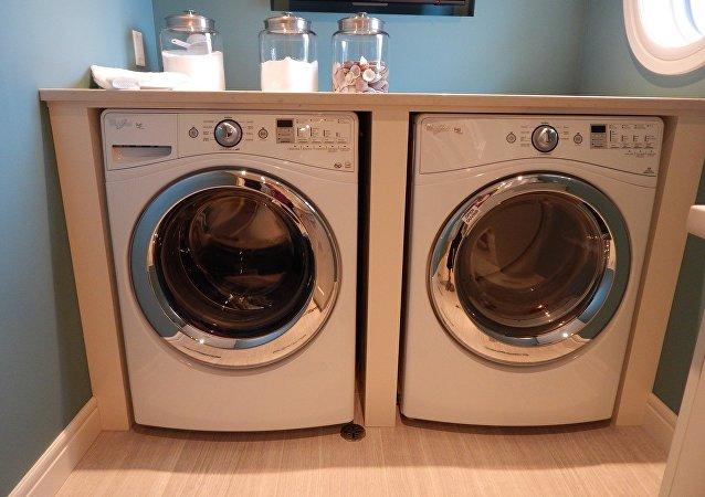 Una lavarropa