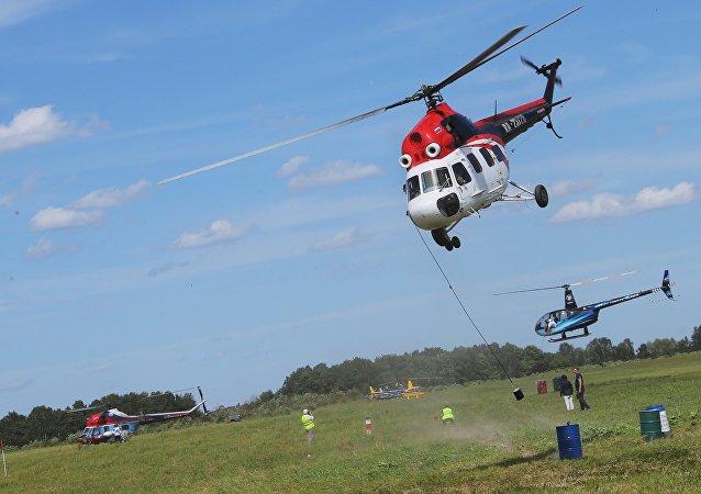 Helicóptero Mi-2 (archivo)