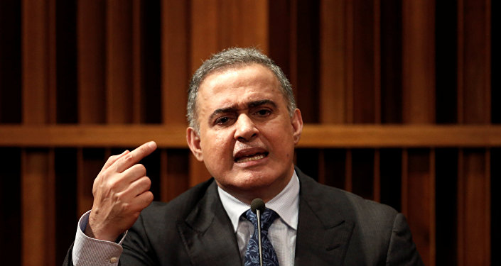 Tarek William Saab, nuevo fiscal general de Venezuela (archivo)