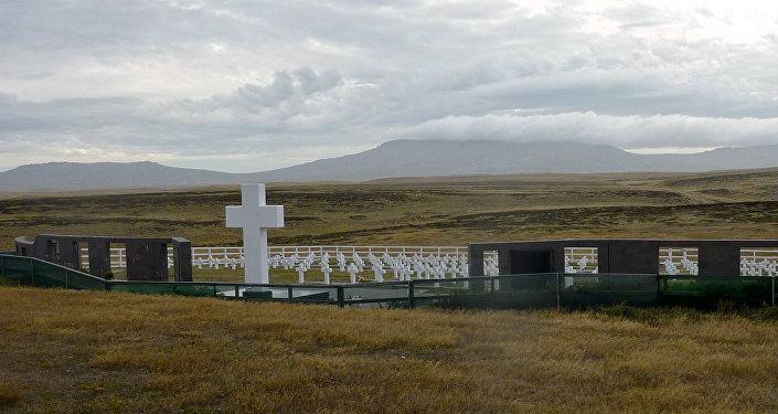 El Cementerio de Darwin en Malvinas (archivo)