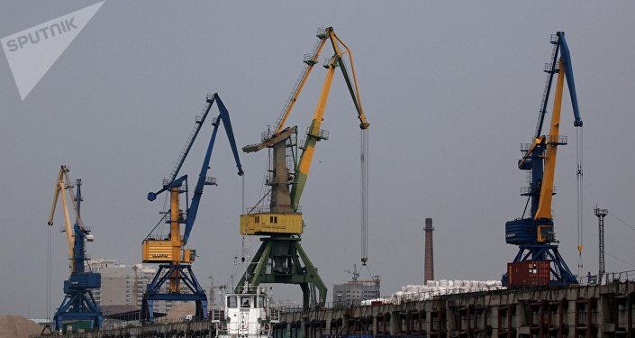 Puerto ruso de Blagovéschensk