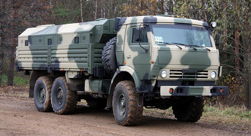 Un Kamaz 5350 (imagen referencial)