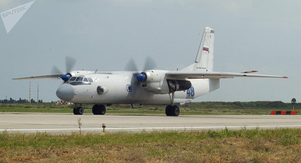 Avión militar ruso An-26 (archivo)