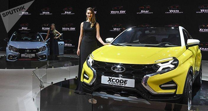 Lada Xcode, prototipo de coche ruso