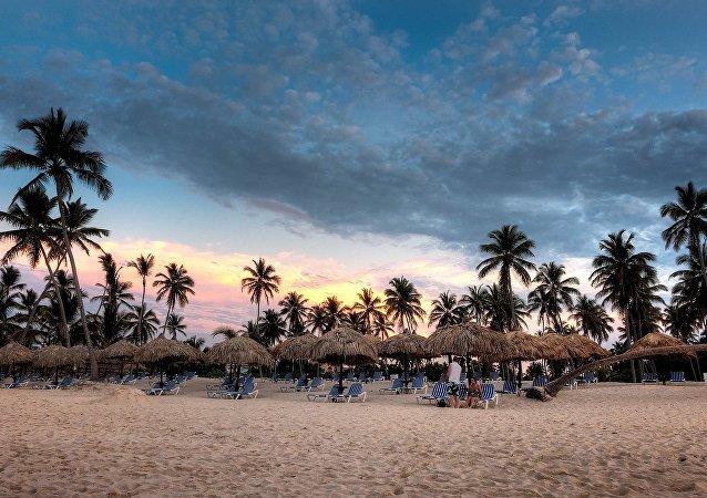 Una playa en República Dominicana