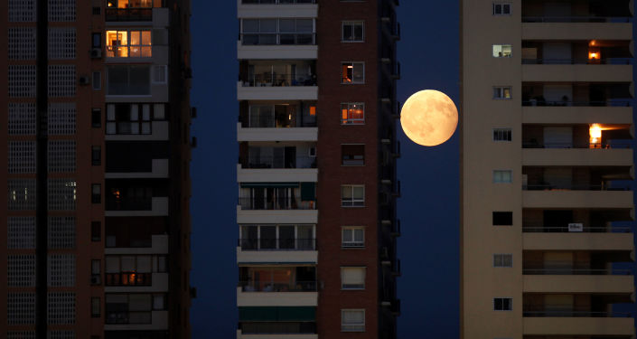 Un fenómeno planetario: las mejores fotos de la 'Luna de sangre'