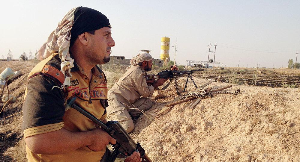 Grupos de autodefensa chiíes en el norte de Irak (archivo)