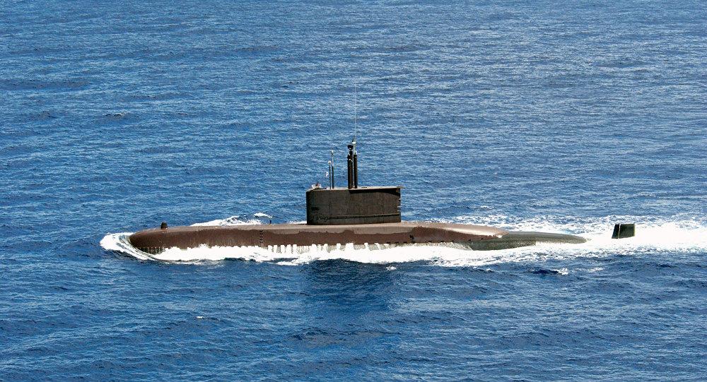 Submarino surcoreano Chang Bogo perteneciente al proyecto Type 209 (imagen referencial)