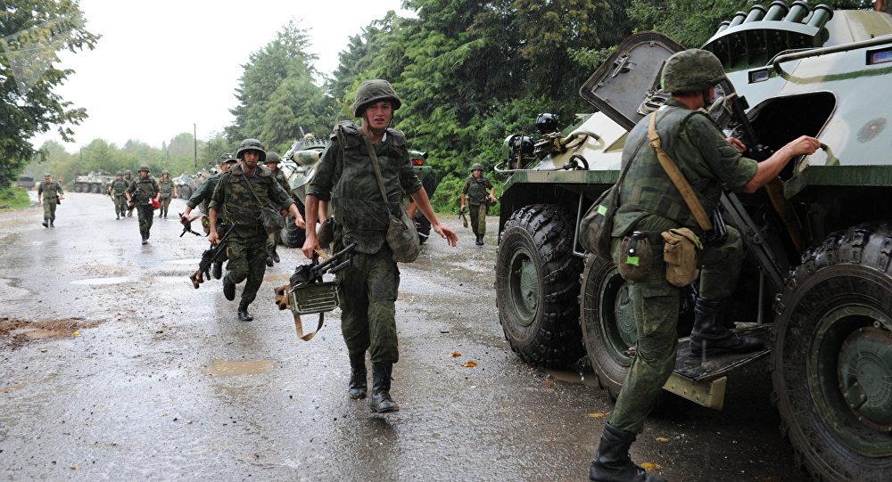 Base militar rusa en Abjasia (archivo)