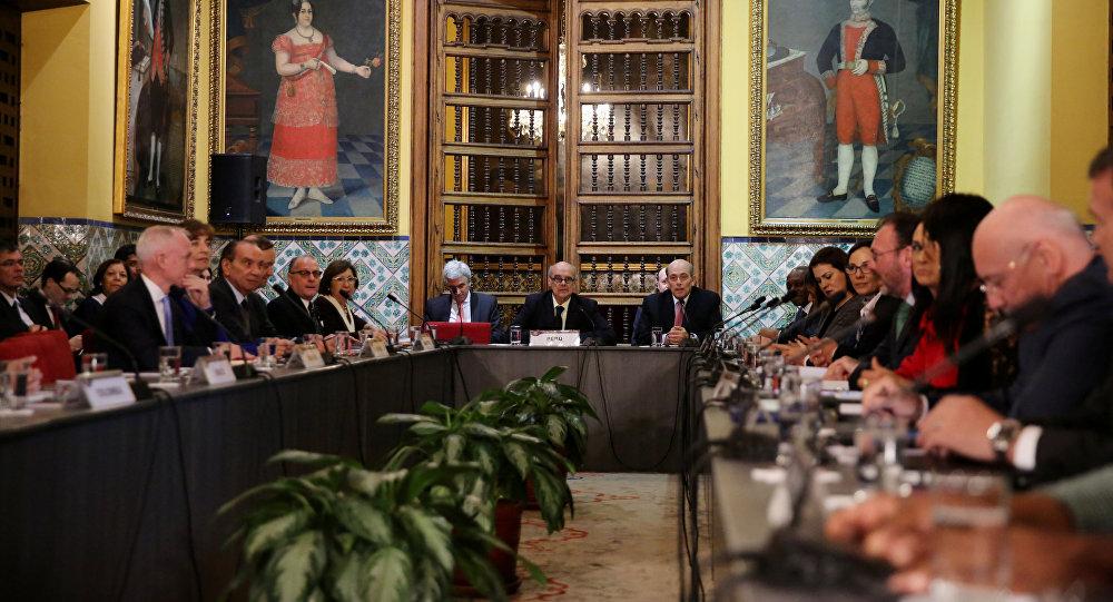 Cancillería descarta propuesta de Nicolás Maduro para reunión de presidentes