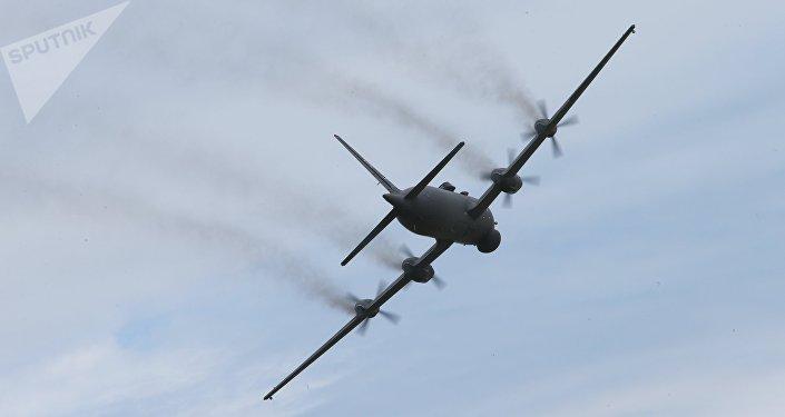 Avión Il-38N (archivo)