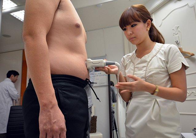 Obesidad en Japón (imagen referencial)