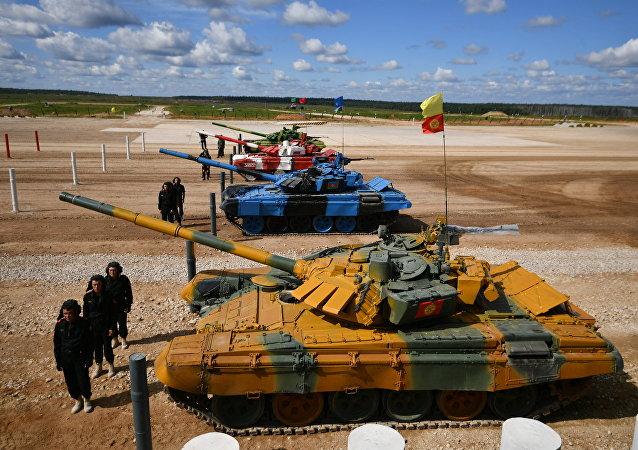 Juegos Militares Internacionales Army Games 2017, Biatlón de tanques