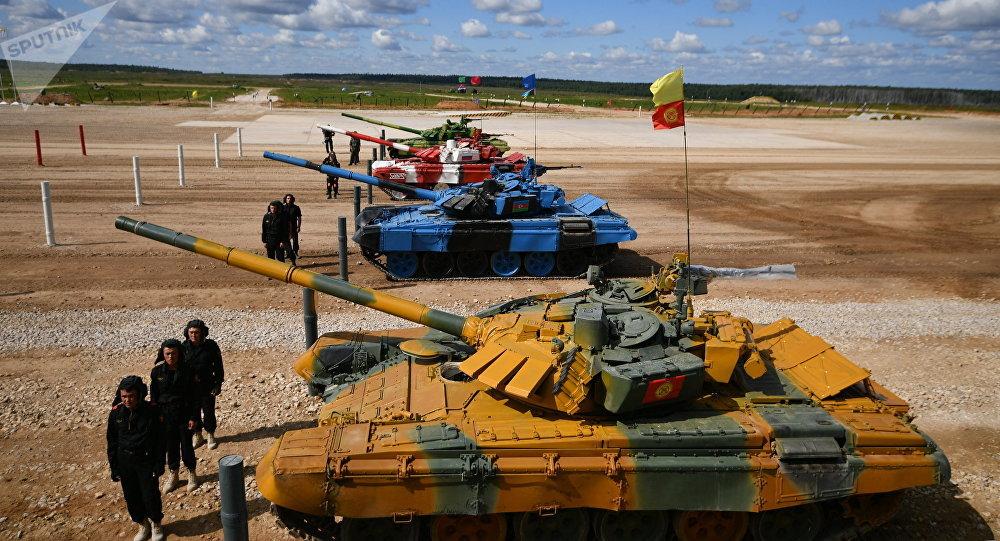 Juegos Militares Internacionales Army Games 2017, Biatlón de tanques (archivo)