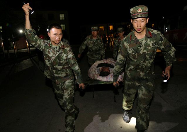 Consecuencias del terremoto en China