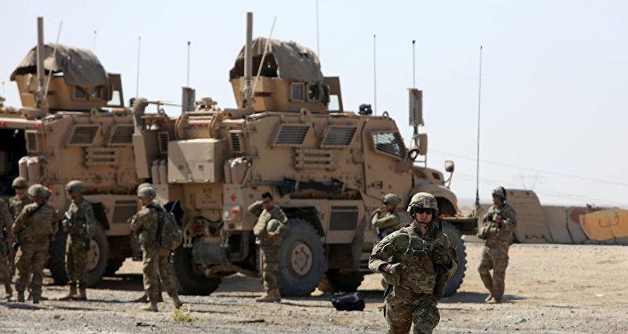 Un soldado de EEUU cerca de Mosul (archivo)