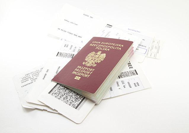 Un pasaporte polaco
