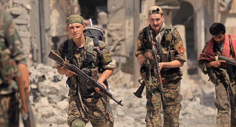 Las Fuerzas Democráticas Sirias
