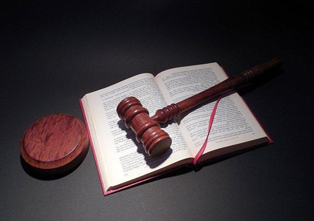 Mazo de juez (imagen referencial)