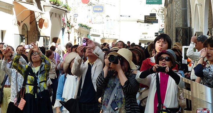 Turistas (imagen referencial)