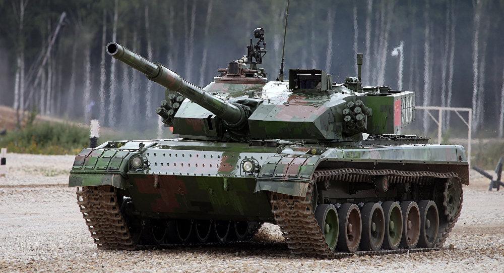 Los secretos militares del tanque chino tipo 96a al for Tanques para cachamas