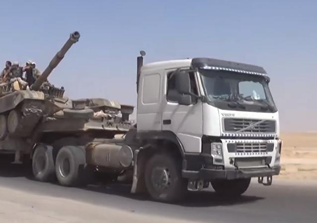 Las ofensivas del Ejército sirio buscan cortar los suministros de armas a los terroristas