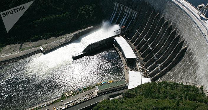 La central hidroeléctrica