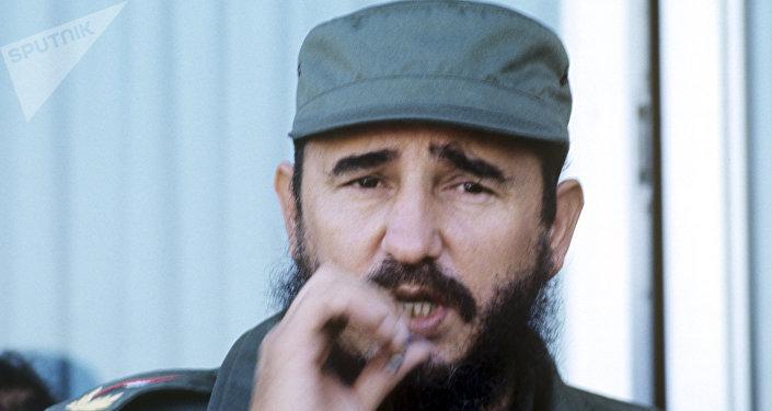 Fidel Castro, líder histórico de la Revolución cubana (archivo)