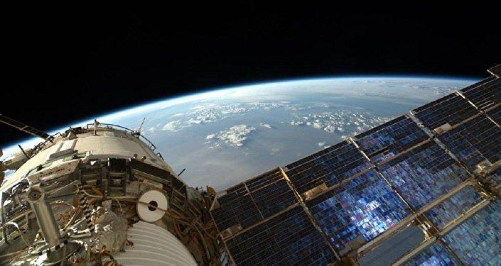 La Tierra desde la Estación Espacial Internacional (EEI)